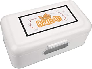 Bread Proofer Box Countertop Container | Stainless Steel ● Kitchen Pastry Keeper ● Vintage Retro Style Bakery Box with 2 Holes to Keep Your Bread Fresher for Longer