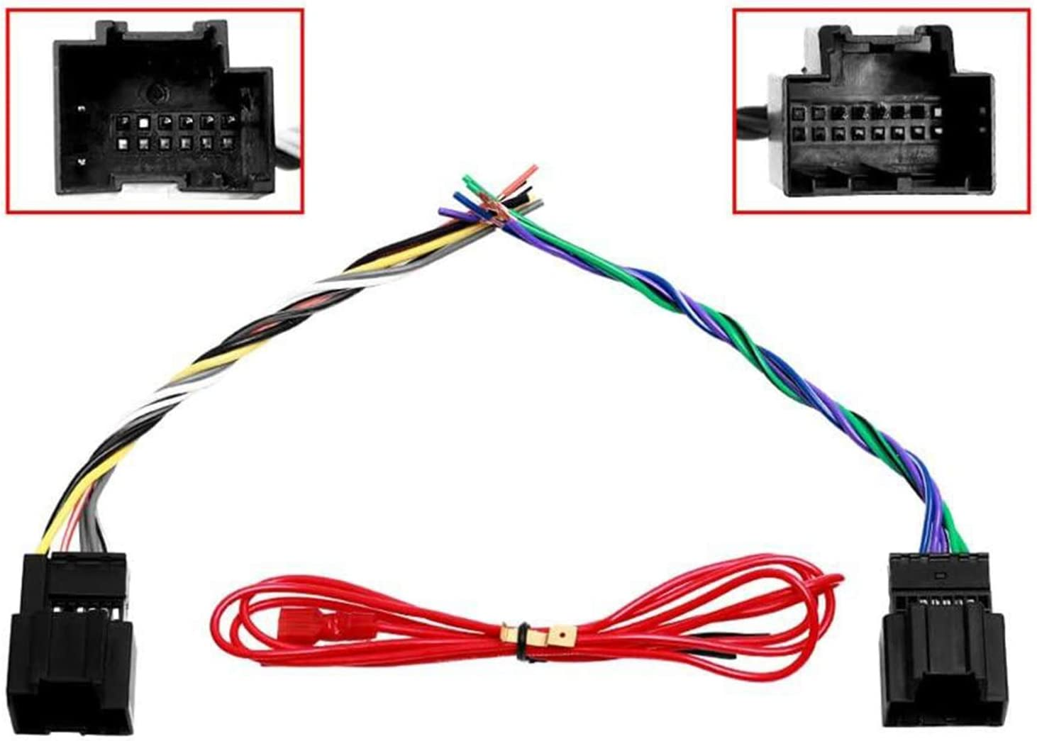 Amazon.com: Car Stereo Radio Wiring Harness for 2006-2007 Saturn ION VUE:  Car Electronics | Receiver Wiring Harness Saturn |  | Amazon.com