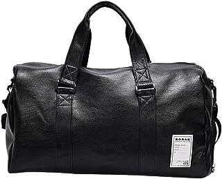 Jiyaru Men's Travel Duffel Outdoor Waterproof Fitness Gym Bag Weekend Overnight Handbag