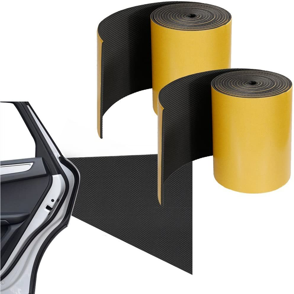 Paracolpi auto - Rovtop - 2 Pezzi in un Rotolo - 2000 * 200 * 5mm - Paracolpi Garage Pannelli Adesivi