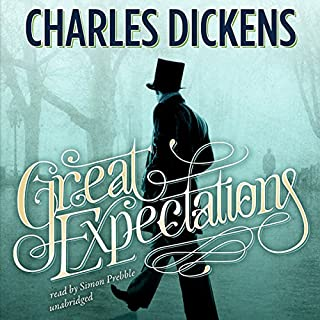Great Expectations                   By:                                                                                                                                 Charles Dickens                               Narrated by:                                                                                                                                 Simon Prebble                      Length: 18 hrs and 32 mins     3,100 ratings     Overall 4.5