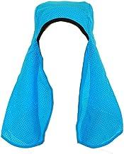 Narajikimi Skull Cap Neck Shade With Sweatband, Blue