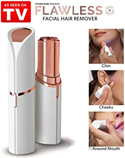 Touch Flawless Women's Finishing Painless Face Lip Chin Cheek Facial Hair Remove