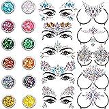 10 Sets Face Gems Glitter