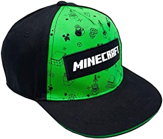 Vanilla Underground Minecraft Creeper All Over Print Boys/Youth Snapback Cap