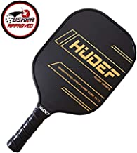 HUDEF Pickleball Paddle,Pickleball Paddles Set,USAPA Approved Lightweight Graphite Carbon Fiber Face Pickleball Paddle Racquet Rackets Large Grip Long Handle,Honeycomb Core,Cushion Comfort Grip