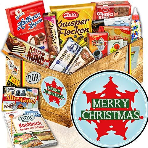 Weihnachtsbaum - Suessigkeiten Box DDR - Geschenk zu Weihnachten