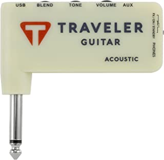 Traveler Guitar, 0-String TGA-1A Acoustic Headphone amp
