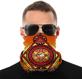 Nother Pagan Wicca Litha sol vindskydd bandana halsduk tvättbar dammmask balaclava ansikte mun