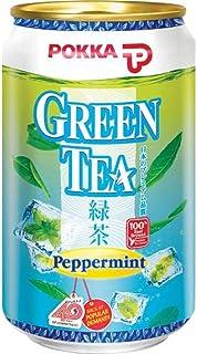 Pokka Peppermint Green Tea 300 ml (Pack of 24)