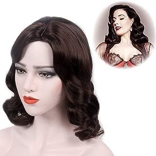 long finger wave wig
