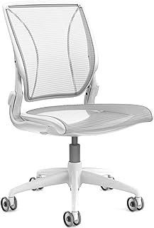 Humanscale World Chair - Silla sin mangas, color blanco