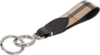 Luxury Fashion | Burberry Mens 8016617 Beige Key Chain | Fall Winter 19