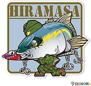 ステッカー アウトドア フィッシング SAKANA☆FORCES ヒラマサ