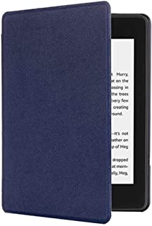 SGKITM Case Amazon Kindle Paperwhite 1 2 3 4 PU Plastic 360° Full Protective Slim Fit Flip Shell Automatic Wake Up or Sleep Shockproof Magnetic Candy Colors Cover for Kindle Paperwhite