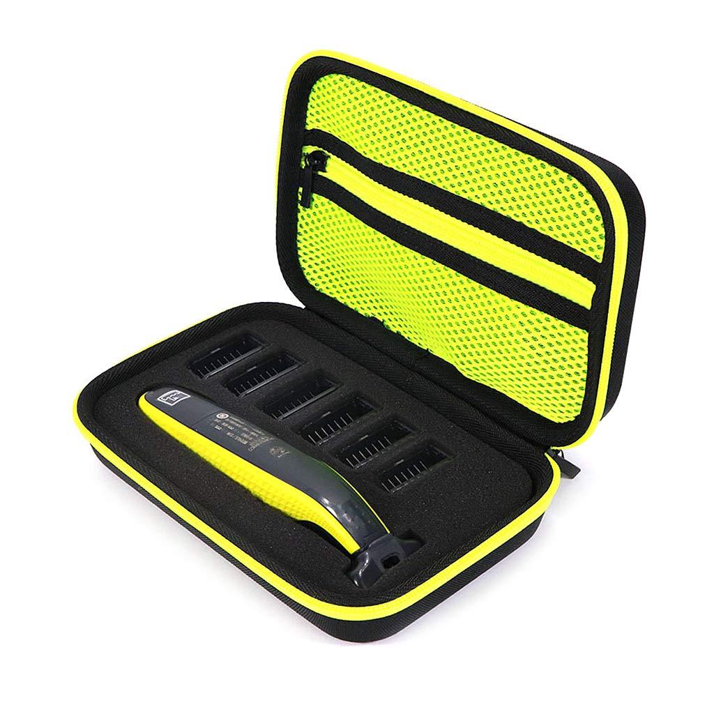 Caja de afeitadora eléctrica de Análisis, Estuche Duro de EVA, Bolsa de Viaje, Organizador, Bolsa de Transporte, para Philips Norelco One Blade QP2520/90 QP2520/70 QP2630/70 QP2530: Amazon.es: Hogar