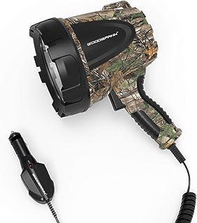 Goodsmann Tactic Pro RealTree-Xtra Spotlight Powerful 1500 Lumen Bright Portable Halogen Bulb Floodlight H102-01