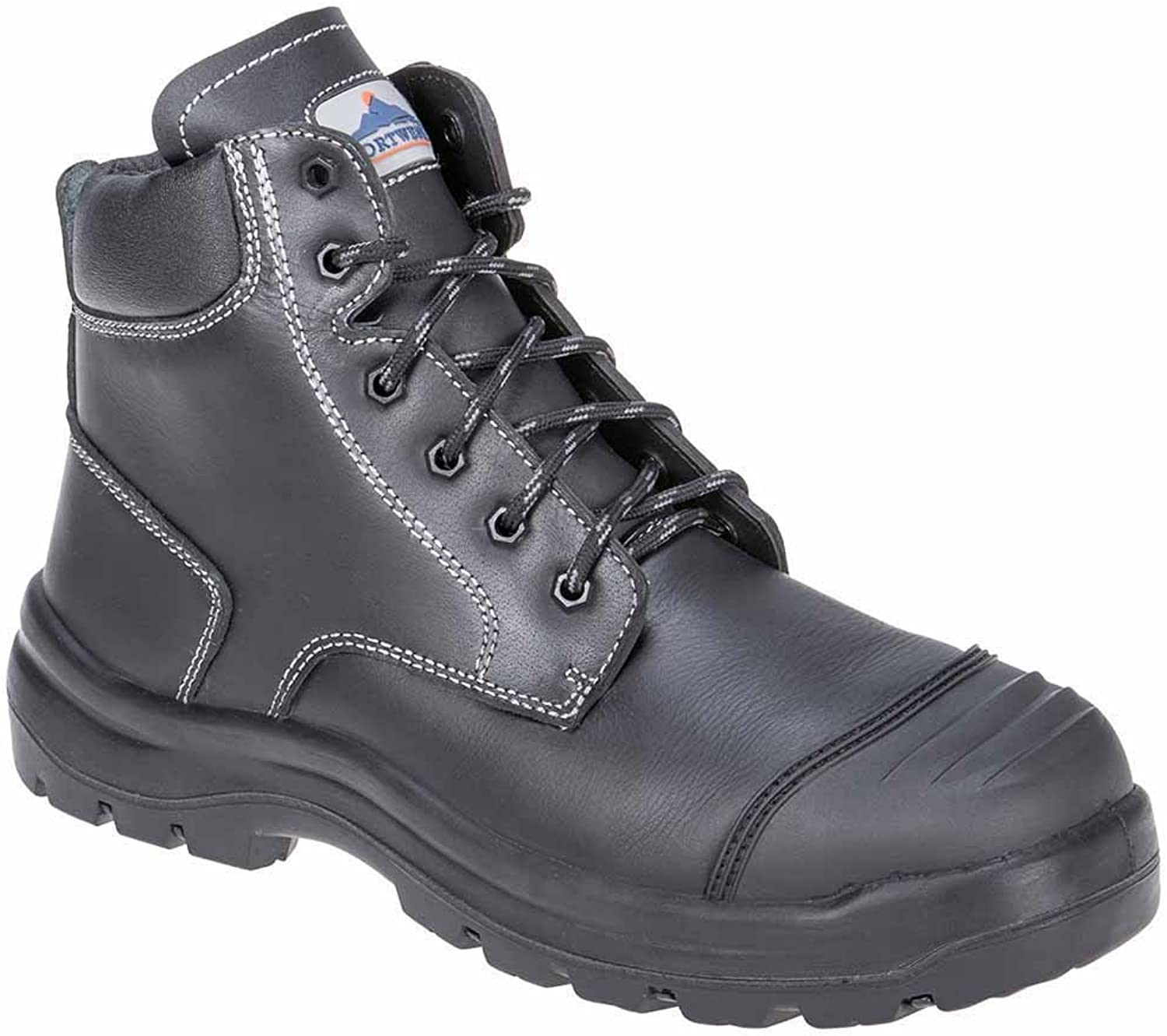 Portwest Clyde Safety Boot Steel Toe Cap Predective Work Wear shoes Anti Static, 13