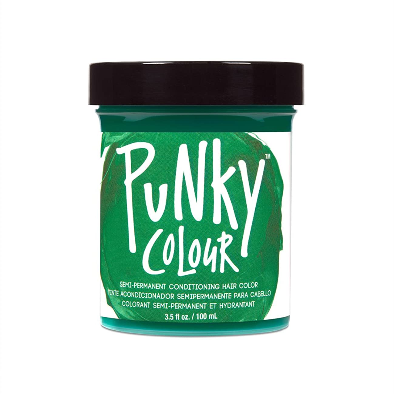 法廷ネストもつれ(3 Pack) JEROME RUSSELL Punky Color Semi-Permanent Conditioning Hair Color - Alpine Green (並行輸入品)
