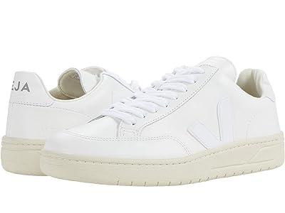 VEJA V-12 (Leather Extra White) Women