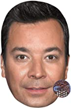 Jimmy Fallon (Black Hair) Celebrity Mask, Card Face and Fancy Dress Mask