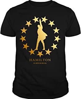hamilton gold star t shirt