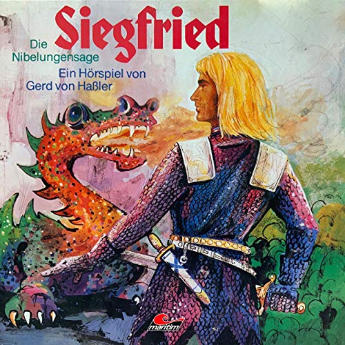 Page de couverture de Die Nibelungensage - Siegfried