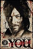 GB Eye Limited Maxiposter, Motiv: The Walking Dead - Daryl