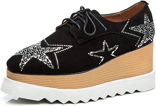 Chaussures Compensées Wedge paniers pour Femmes,MWOOOK-821 Plateforme Chaussure Sport Fitness, Convient à Toutes Les Saisons