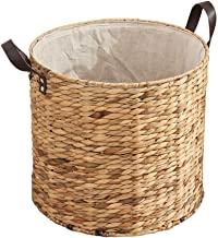 YAYADU Storage Basket High Capacity Finishing Box Toy Books Clothes Vegetables Dormitory Home Bathroom Diameter X Height (...