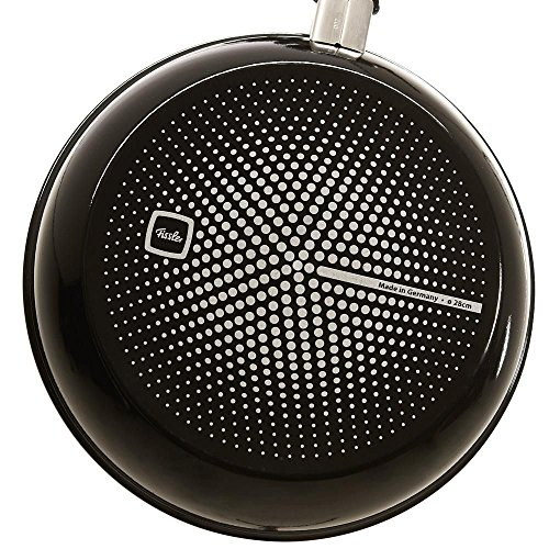 Fissler protect emax comfort Aluminium Frying-Pan Non-Stick, 11-Inch, black