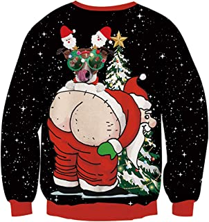 santa claws ugly sweater