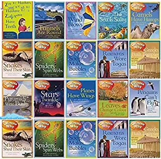 e'ducation & Teaching - 20 Books Coloring Books One Hundre'd Thousand Why English Original I Wonder Children's Encyclope'd...