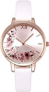 Women's Watches Leather Band Luxury Quartz Watches Waterproof Fashion Creative Wristwatch for Women Girls Ladies