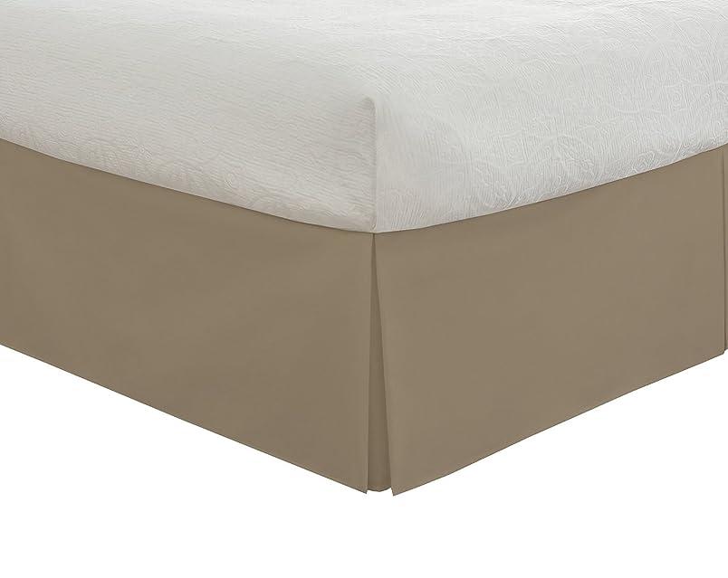 ひまわり構造的屋内でSRP寝具Real 550-thread-count分割コーナー用フリル付きベッドスカート/ Dust 21?