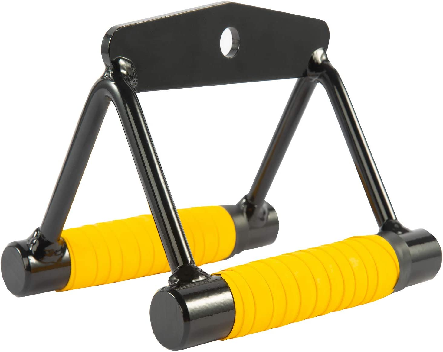 Cable Machine Handle Attachments, Pull Down Exercise Handles of Home Gym Accessories (Black Row) : Sports & Outdoors