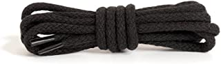 Round Shoe Laces, Quality Durable 100% Cotton, Many Colours and Lengths