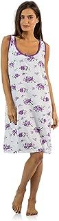 Women's Cotton Sleeveless Nightgown Chemise