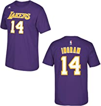 adidas Los Angeles Lakers Brandon Ingram Purple Name and Number T-Shirt