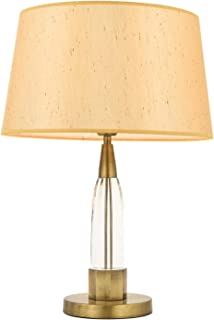 AVONNI HML-9102-1E Antique Plated Table Lamp, E27, Metal, Glass, 35cm