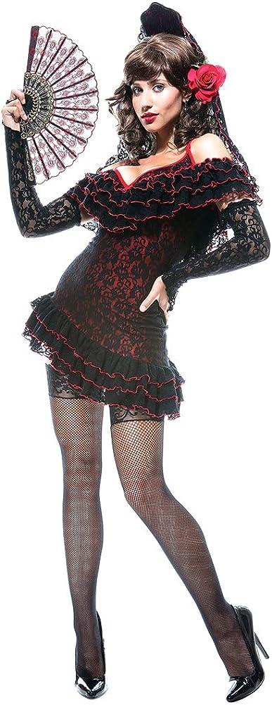 Paper Magic 5 popular Women's Lady of Large Special Campaign Senorita Spain Sexy Costume