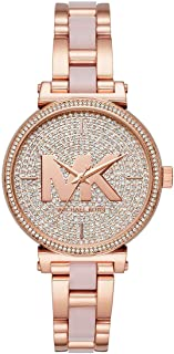 Michael Kors Womens Analogue Quartz Watch with Stainless Steel Strap MK4336