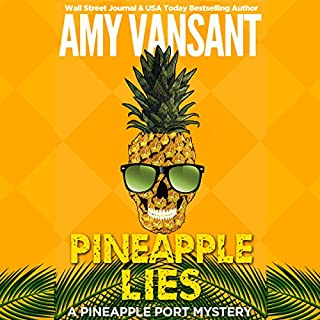 Pineapple Lies audiobook cover art