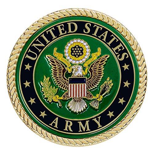 Army Medallion – 2 Inches – U.S. Army Seal Metal Emblem - Army Gifts