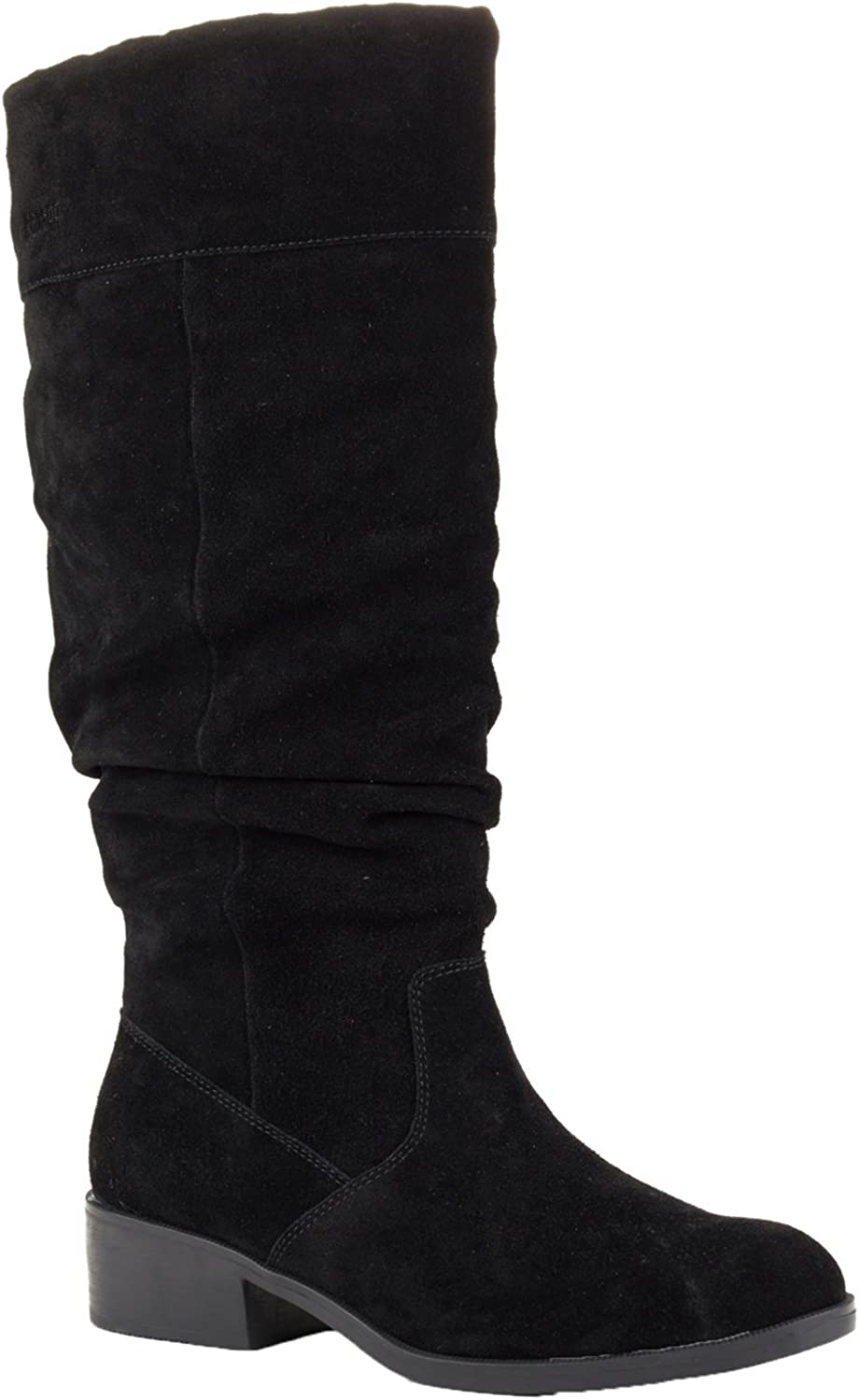 Cougar Women's Carla Tall Dress Boot (11 M US, Black Suede)