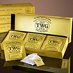 Black Teas, Green Teas our 95°C water over one teabag and infuse for 2-3 minutes for one cup, or 3-4 minutes for a small teapot. Remove teabag and serve. 15 Cotton Teabags This noble TWG Tea breakfast blend is evocative of the sophisticated harmony o...