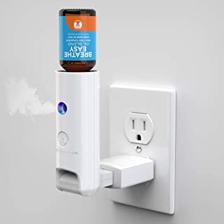World's First Water-less Plugin - Natural Mist - 100% Pure & Natural Essential Oil Diffuser - Aromatherapy Air Freshener- Diffusers for Bedroom - Bathroom - Kitchen