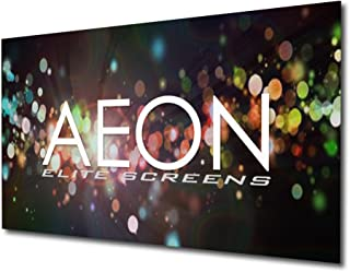 Elite Screens Aeon AUHD Series, 135-inch 16:9, 4K Home Theater Fixed Frame Edge Free Borderless Projection Sound Transparent Perforated Weave Projector Screen, AR135H2-AUHD