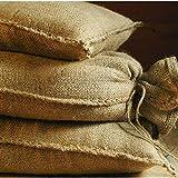 Saco de arena de yute 20 kg (30 x 60 cm) 10 unidades...