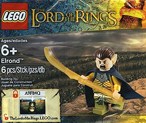 Lego Señor de los Anillos/ Der Herr der Ringe Elrond 5000202 Exclusivo
